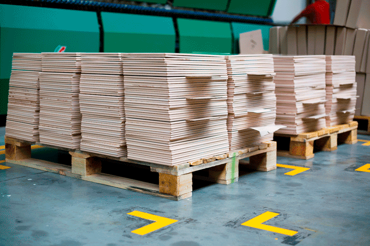 Pallet Storage Markings