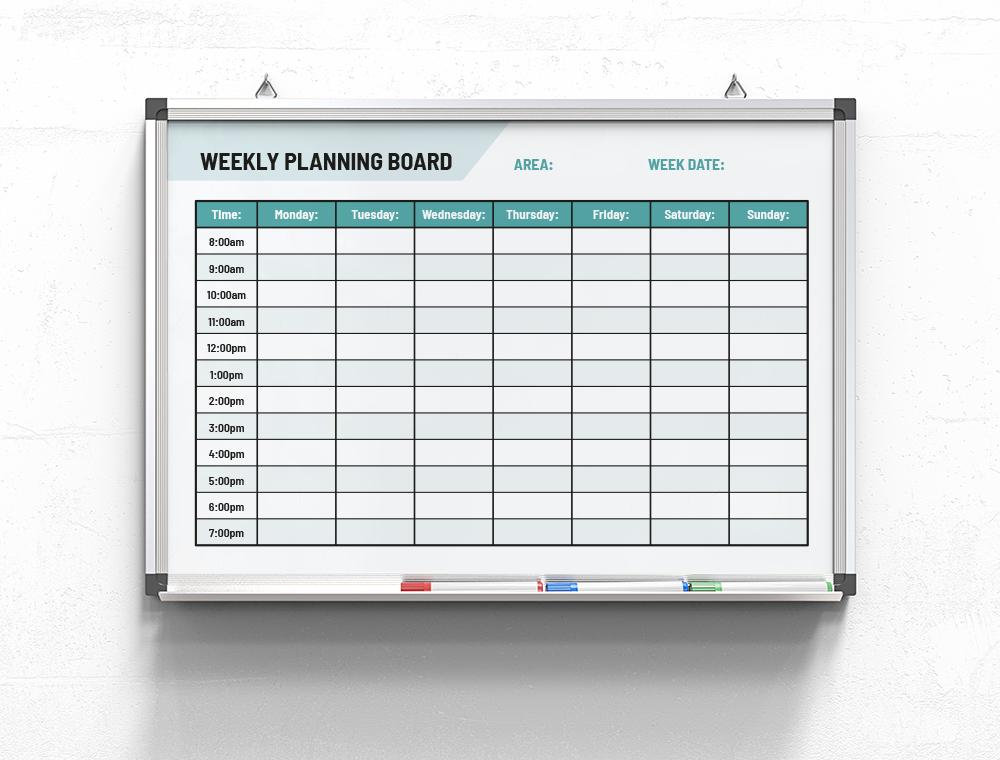 Weekly-Planning-Board-Mon-Sun-cyan