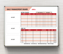 Daily-Management-Board-Mon-Fri-red
