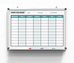 Scrum-Task-Board-cyan
