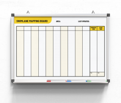 Swimlane-Mapping-Board-yellow