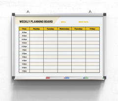 Weekly-Planning-Board-Mon-Fri-yellow